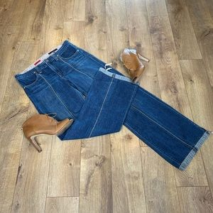Ag The Convertible Wide Leg Jeans